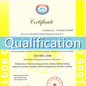 powder coating paint qualification