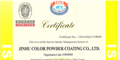 powder coating powder color