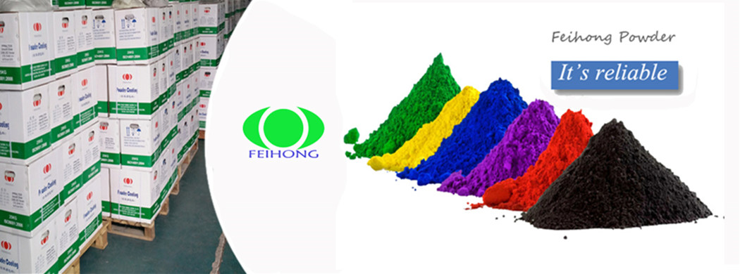 <blockquote><h3>Electrostatic Powder Coating Powders Paint</h3>FEIHONG electrostatic powder paint is certified with