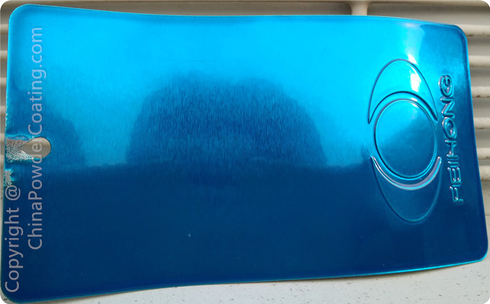 transparent clear topcoat coco blue