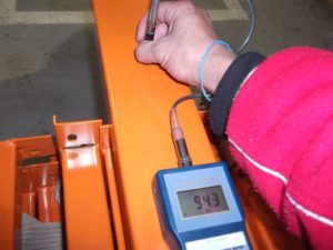 coating thickness testing